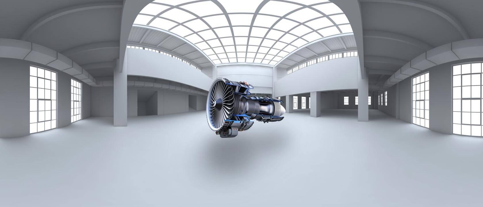 Turbine in 360 Grad Anwendung